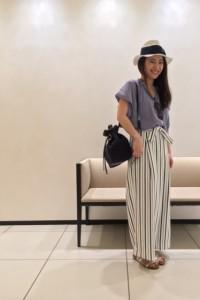 Summer Stripe Style.