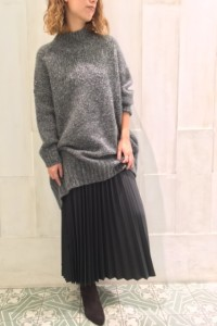 MIX LONG KNIT.